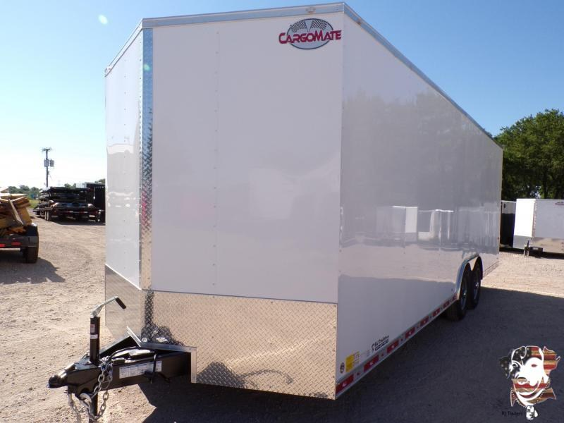 2021 Cargo Mate 8.5 x 24 E-Series Enclosed Cargo Trailer