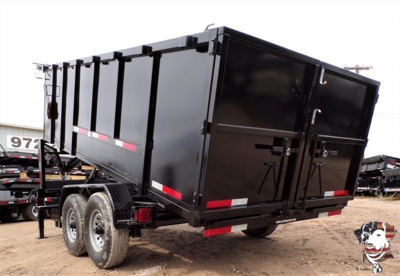 2020 Texas Pride Trailers 84 x 16 Gooseneck Dump Trailer