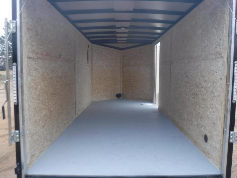 2020 Pace American 7 x 16 Ele Slant V-Nose Enclosed Cargo Trailer