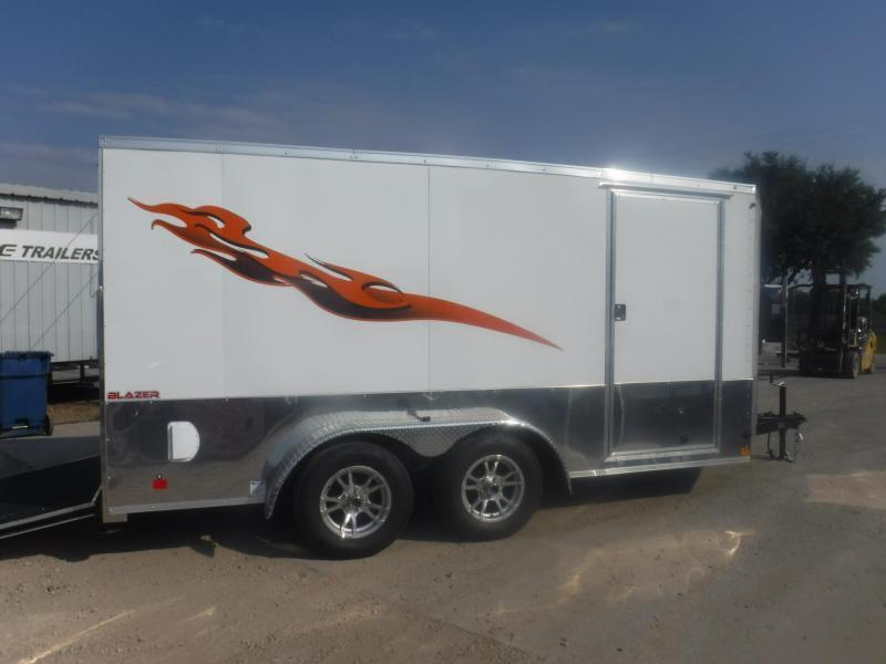 2020 Cargo Mate 7 x 14 Blazer Low Hauler Motorcycle Trailer