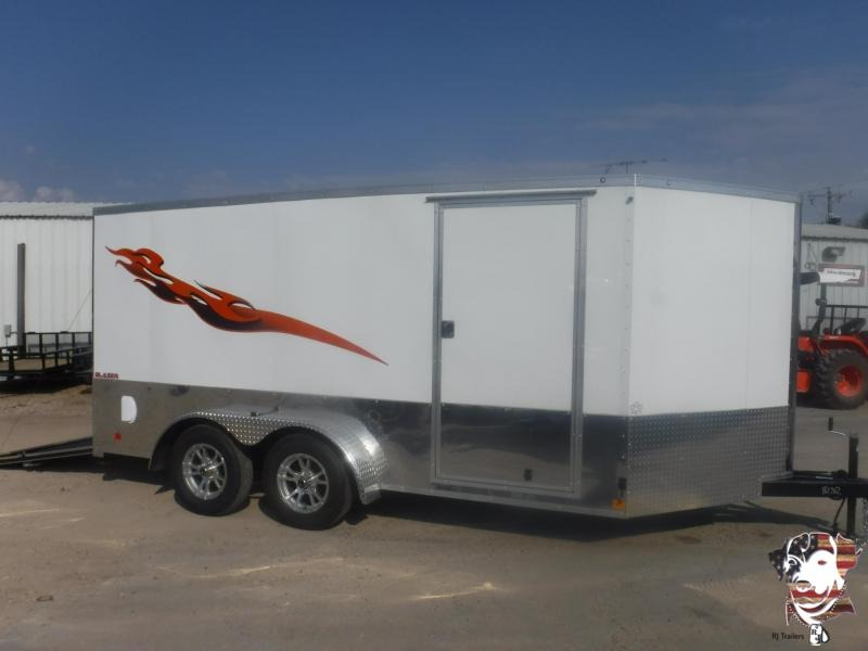 2020 Cargo Mate 7 x 14 Blazer Low Hauler Motorcycle Trailer