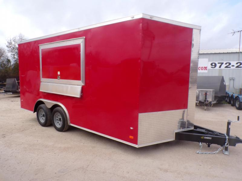 2020 Covered Wagon Trailers 8.5 x 16 Gold Series Concession Vending / Concession Trailer