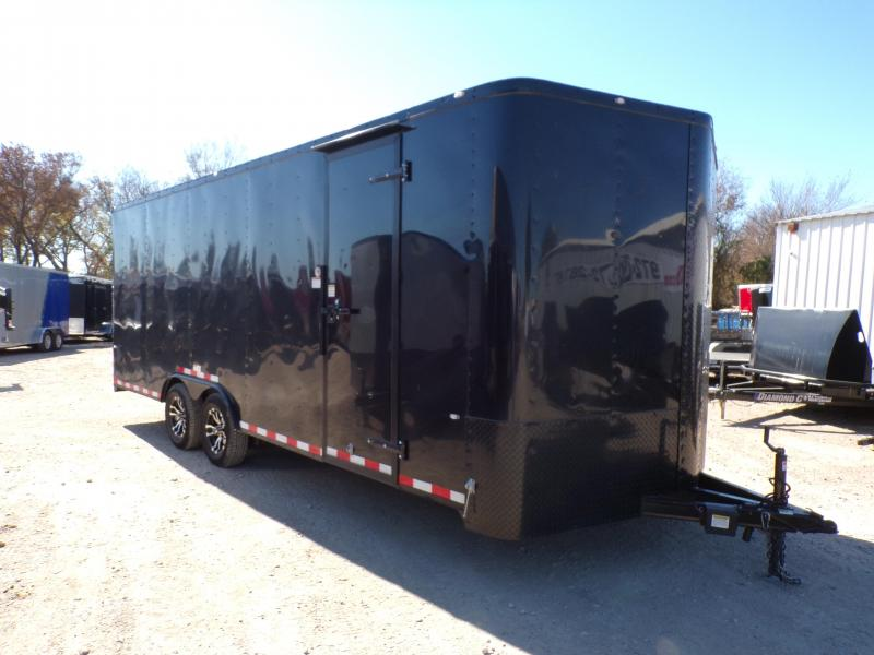 2019 Cargo Craft 8.5 x 20 Elite V-Nose Enclosed Cargo Trailer