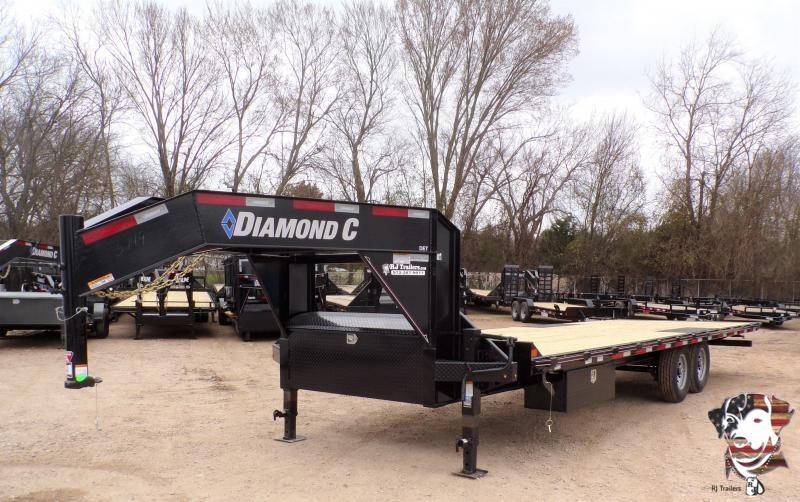 2020 Diamond C Trailers 102 x 26 DET207 Equipment Trailer