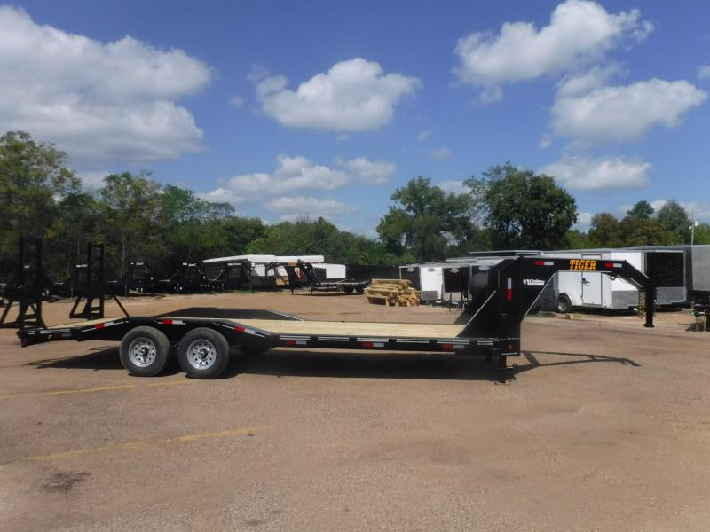2020 Tiger 83 x 24 Gooseneck Equipment Trailer