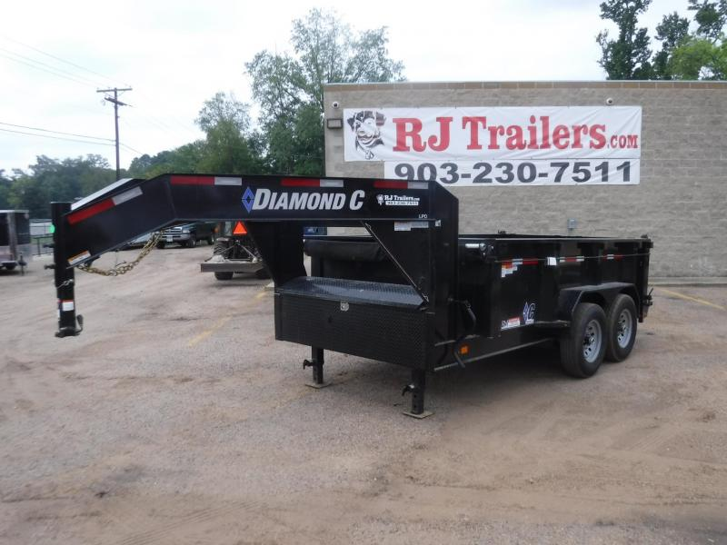 2020 Diamond C Trailers 82 x 12 LPD207 Gooseneck Dump Trailer