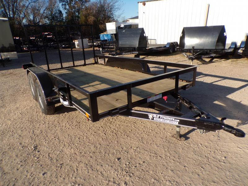 2020 Buck Dandy 77 x 12 TA Utility Trailer