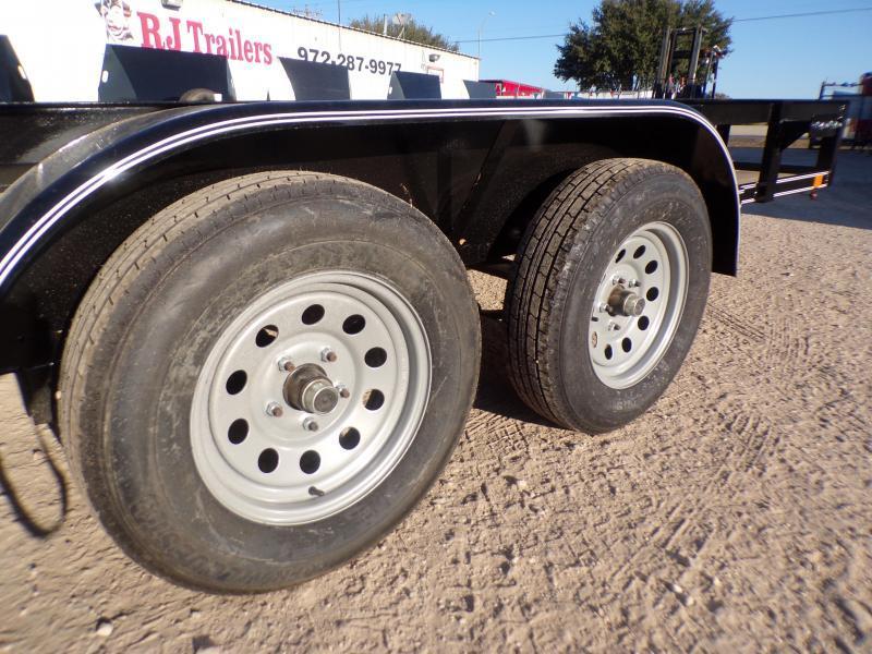 2020 Buck Dandy 77 x 12 TA Utility Trailer
