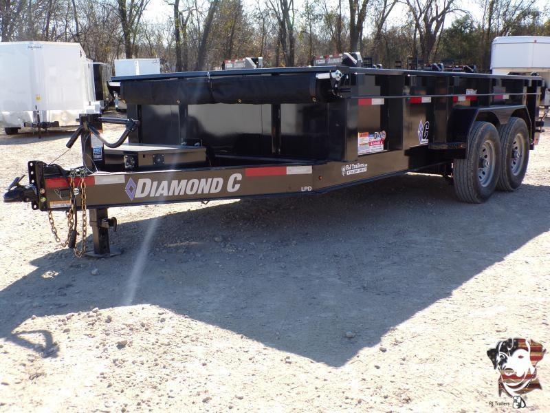2020 Diamond C Trailers 82 x 14 LPD Dump Trailer
