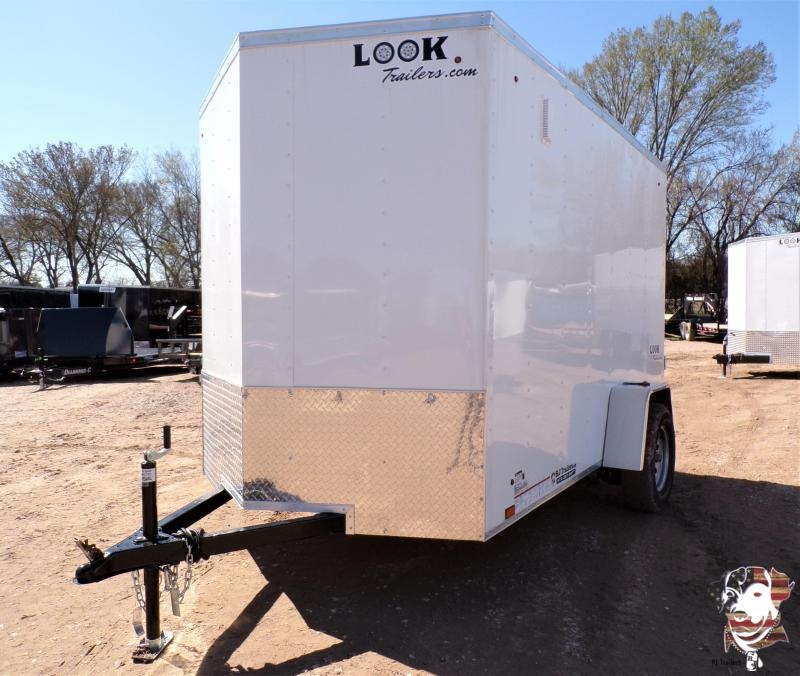 2021 Look Trailers 6 X 10 Element Enclosed Cargo Trailer