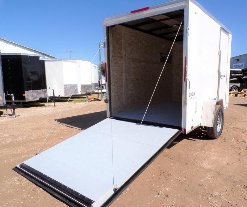 2021 Look Trailers 6 X 10 Element Enclosed Cargo Trailer