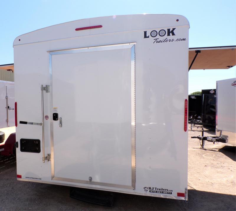 2021 Look Trailers 8.5 x 16 Element Enclosed Cargo Trailer