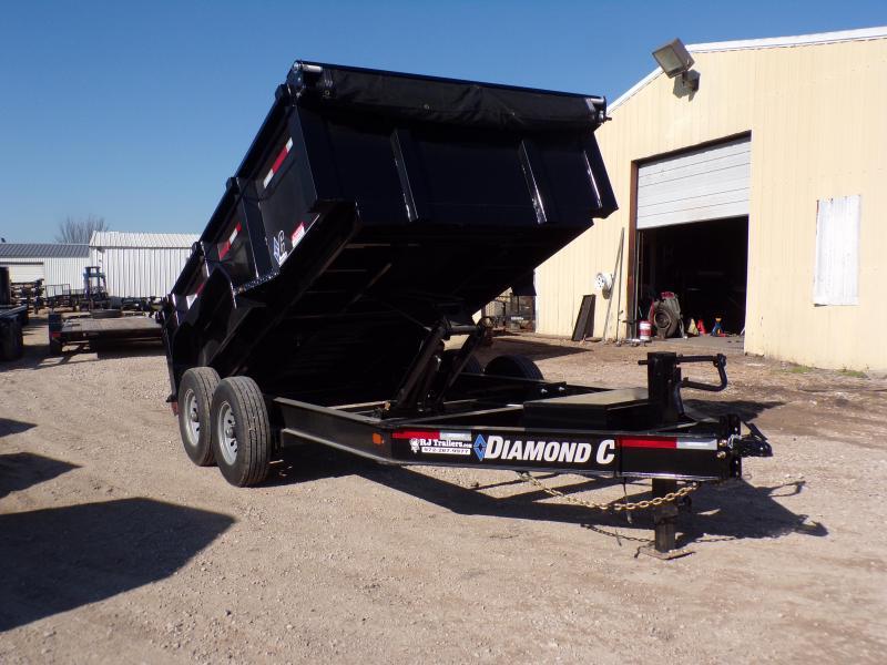 2020 Diamond C Trailers 82 x 12 LPD207 Dump Trailer