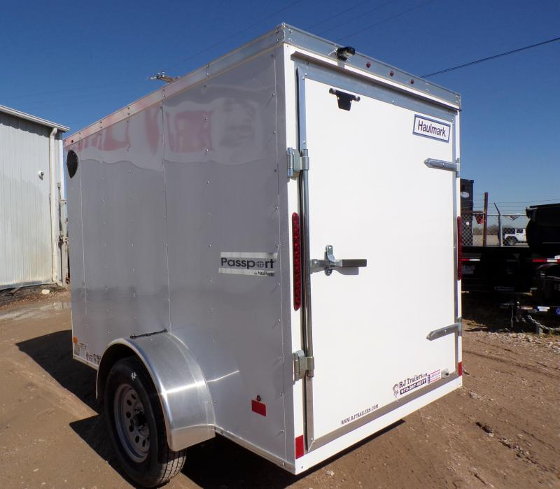 2020 Haulmark 5 x 8 Passport Enclosed Cargo Trailer