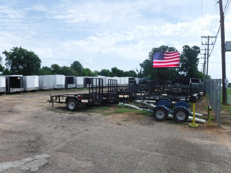 2020 Buck Dandy 77 x 12 SA Utility Trailer