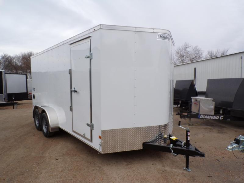 2020 Haulmark 7 x 16 Passport Deluxe Enclosed Cargo Trailer