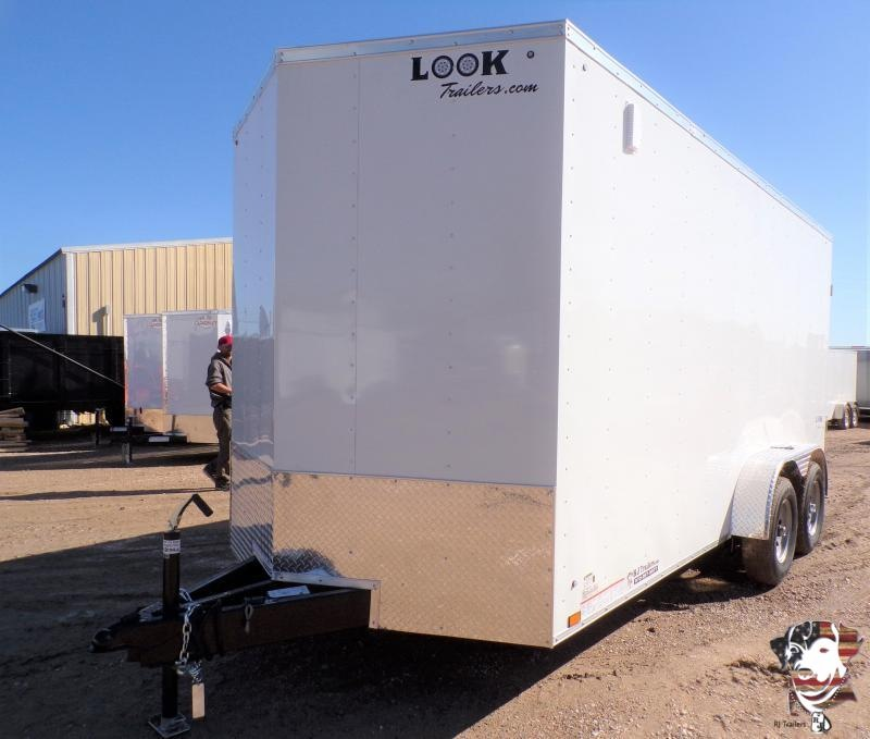 2021 Look Trailers 7 X 16 TA Element Enclosed Cargo Trailer