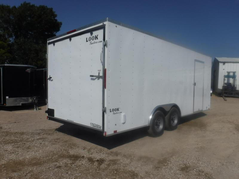2020 Look Trailers 8.5 X 20 TA Element Enclosed Cargo Trailer