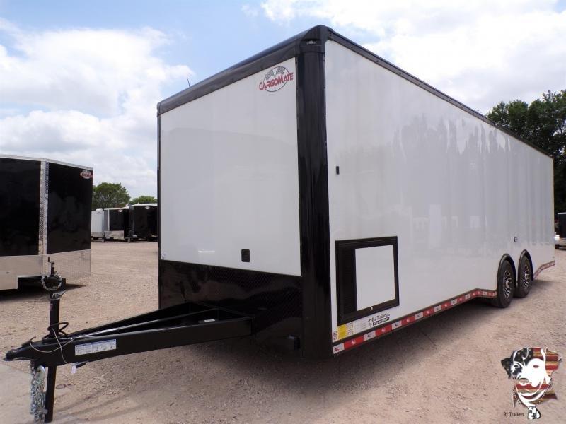 2021 Cargo Mate 8.5 x 28 NS Car / Racing Trailer