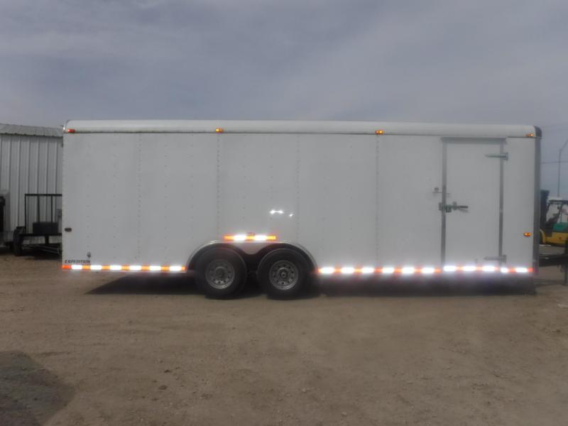 2016 Cargo Craft 8.5 x 24 Expedition Enclosed Cargo Trailer