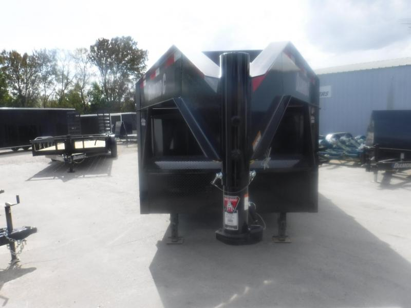 2020 Diamond C Trailers 82 x 16 LPT Telescopic Dump Trailer