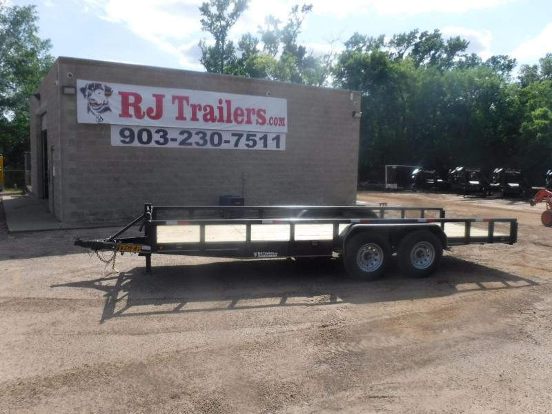 2020 Tiger 83 x 20 Pipe Top Equipment Trailer