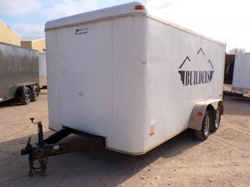 2004 Pace American 7 x 14 Enclosed Cargo Trailer