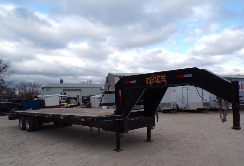 2017 Tiger 102 x 32 Tiger Tandem Dual Utility Trailer