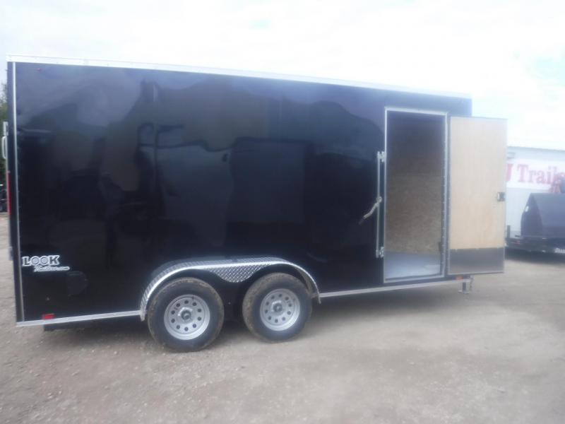 2020 Look Trailers 7 x 16 Ele Slant V-Nose Enclosed Cargo Trailer