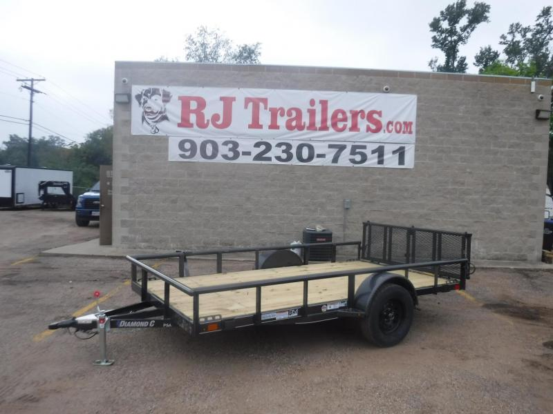 2020 Diamond C 77 x 12 PSA Utility Trailer
