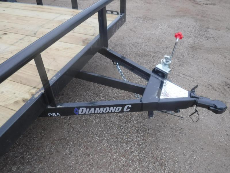 2020 Diamond C 77 x 12 PSA Utility Trailer