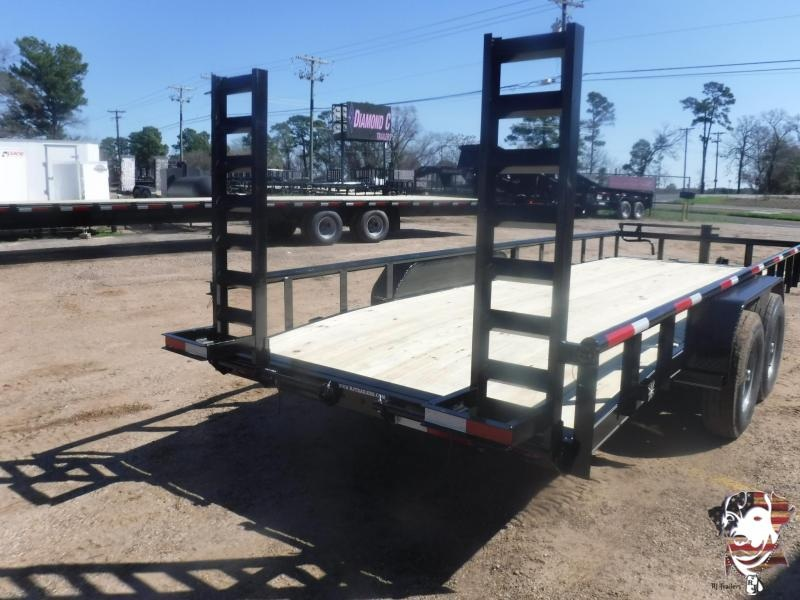 2020 TexLine 83 x 20 Bobcat Equipment Trailer