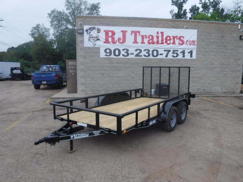 2020 Buck Dandy 77 x 14 TA Utility Trailer