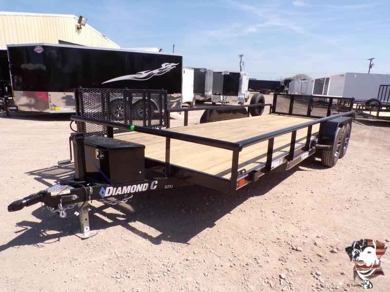2020 Diamond C Trailers 83 x 20 GTU Utility Trailer