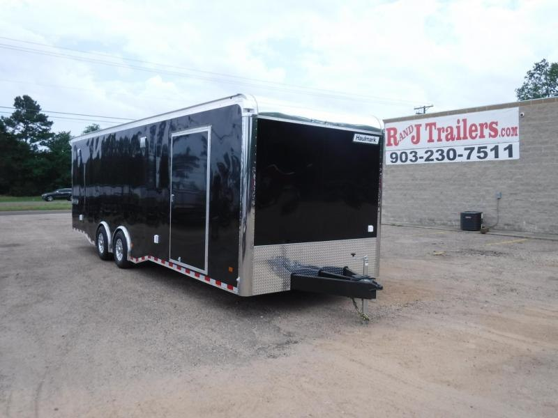 2019 Haulmark 8.5 x 28 Edge Heat Car / Racing Trailer