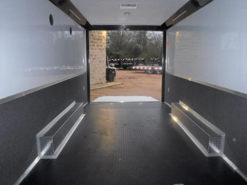 2020 Cargo Mate 8.5 x 24 NS Racing Trailer