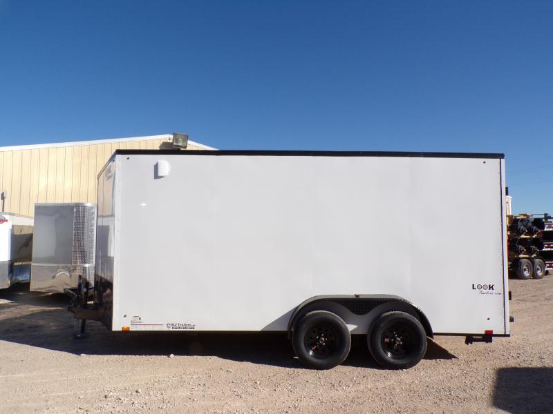 2020 Look Trailers 7 x 16 Ele Slant-V-Nose Enclosed Cargo Trailer
