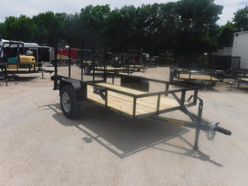 2019 Tiger 5 x 10 Econo Series Utility Trailer