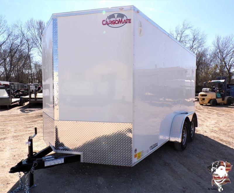 2021 Cargo Mate 7x14 E-Series Enclosed Cargo Trailer