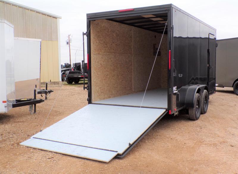 2020 Look Trailers 7x16 Ele Slant-V-Nose Enclosed Cargo Trailer
