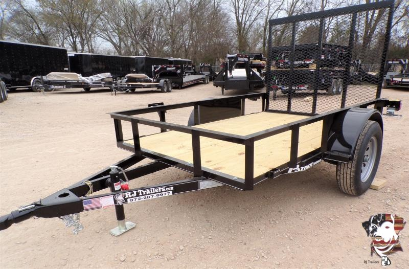 2020 TexLine 5 x 10 Patriot Utility Trailer