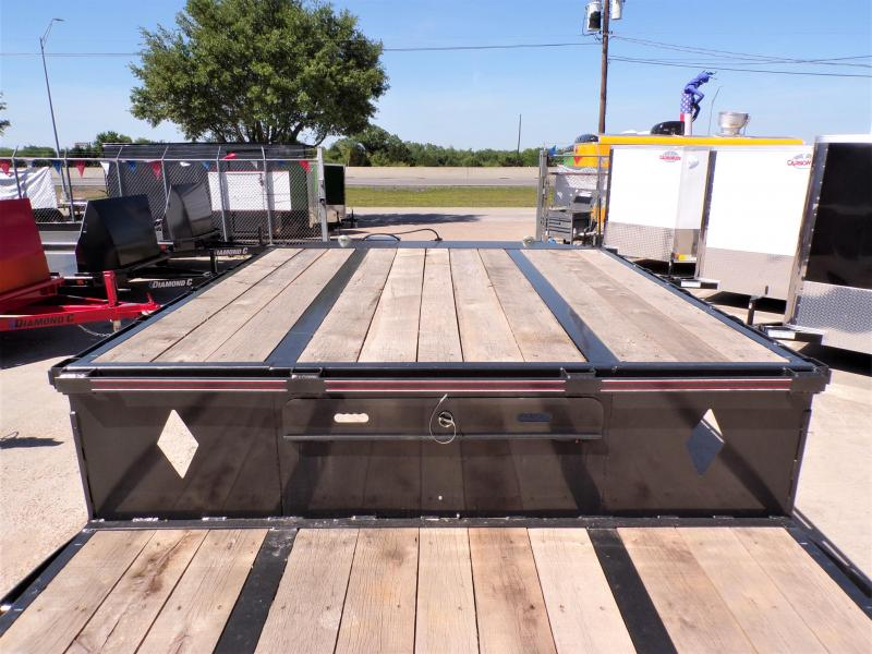 2020 Diamond C Trailers 102 x 53 SDX 216 Flatbed Trailer