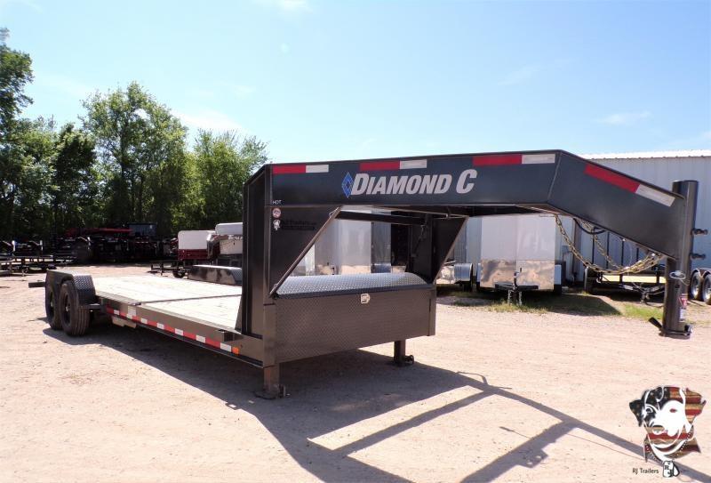 2020 Diamond C Trailers 82 x 24 HDT207 GooseneckEquipment Trailer