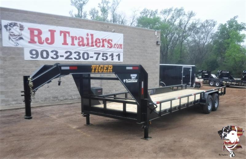 2020 Tiger 83 x 24 Gooseneck Equipment Trailer