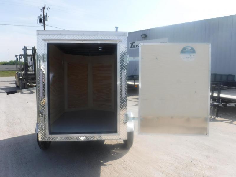 2019 Cargo Mate 4 x 6 E-series Enclosed Cargo Trailer