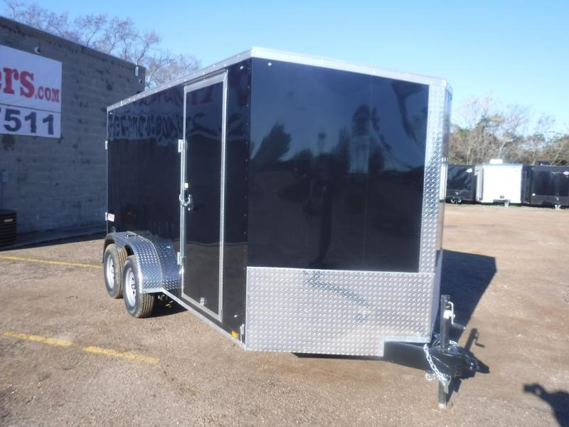 2020 Pace American 7 x 16 Ele Slant V-Nose Enclosed Cargo Trailer