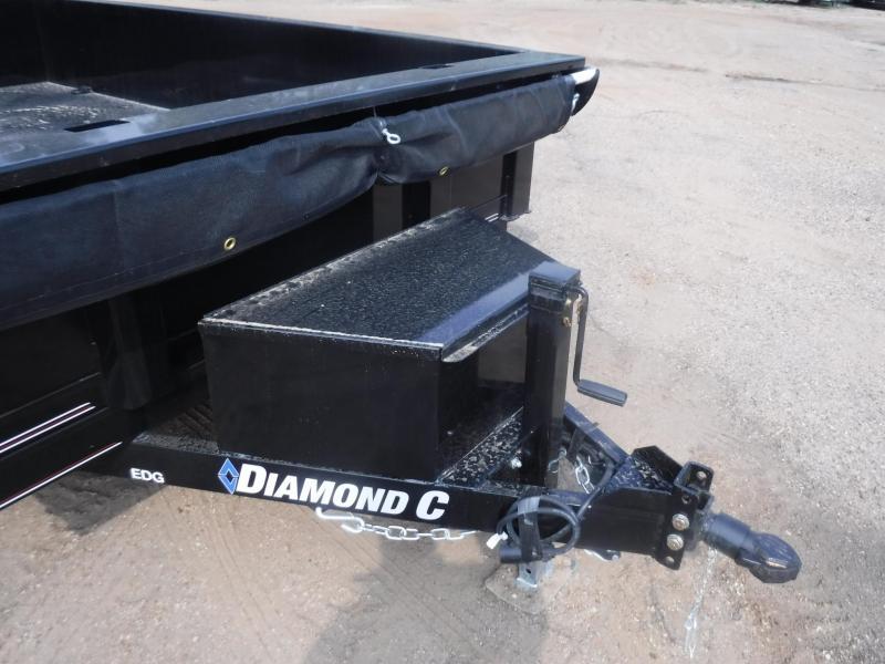 2020 Diamond C Trailers 77 x 10 EDG Dump Trailer