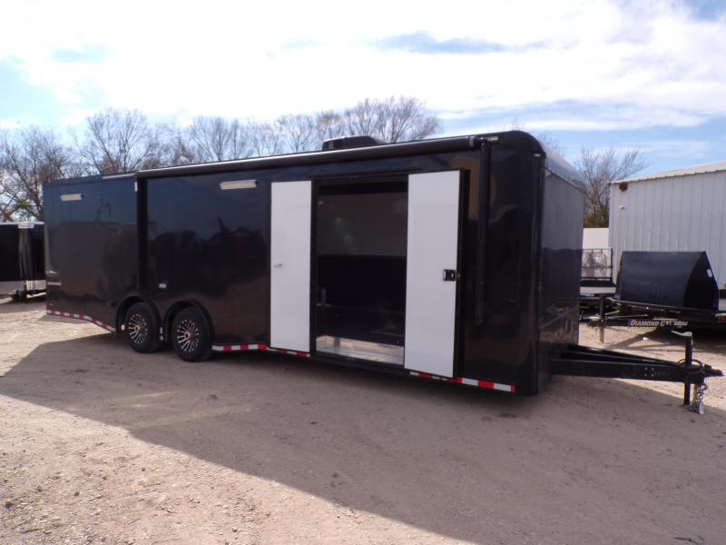 USED 2019 Continental Cargo 8.5 x 28 Eliminator SS Car / Racing Trailer