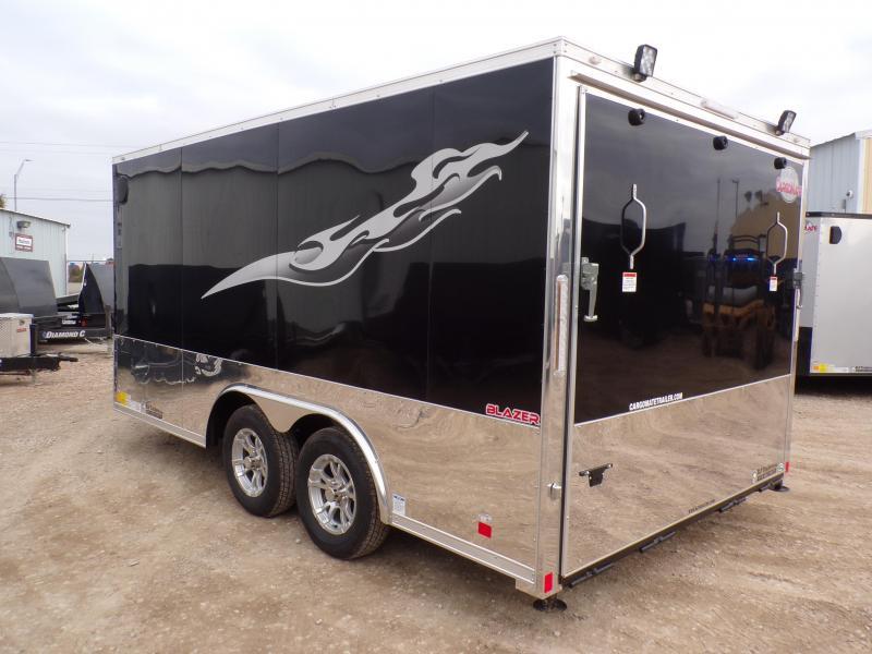 2020 Cargo Mate 8.5 x 14 Blazer Low Hauler Motorcycle Trailer