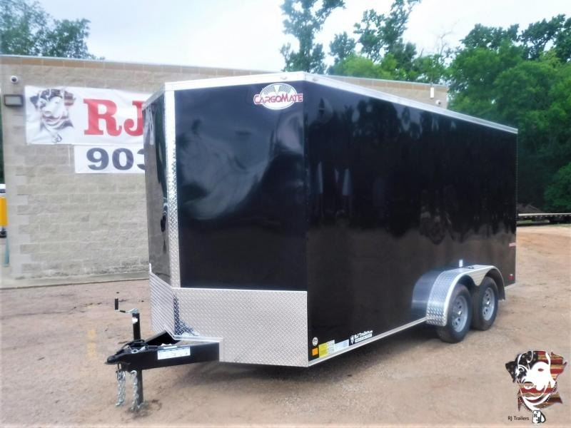 2020 Cargo Mate 7 x 16 E-Series Enclosed Cargo Trailer